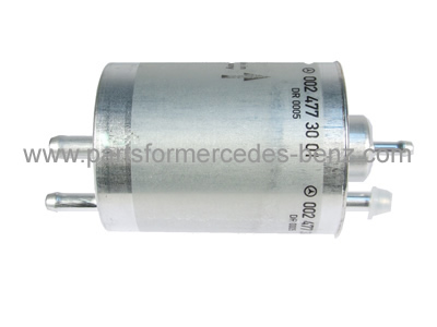 genuine fuel filter (petrol)  to fit: mercedes c class 2001-2007