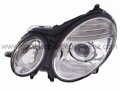 Mercedes e class 2006 2009 aftermarket left hand headlamp for Mercedes benz aftermarket performance parts