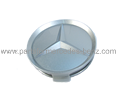 Mercedes Alloy Wheel Centre/Hub Cap (Titanium)