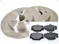 452 Smart Roadster 2003-2006 Front Disc And Pad Kit - Aftermarket