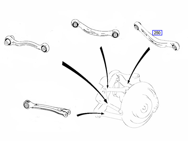 Superb W212 S212 E Class 2009 2014 Rear Suspension Control Arm Right Wiring Digital Resources Xeirawoestevosnl