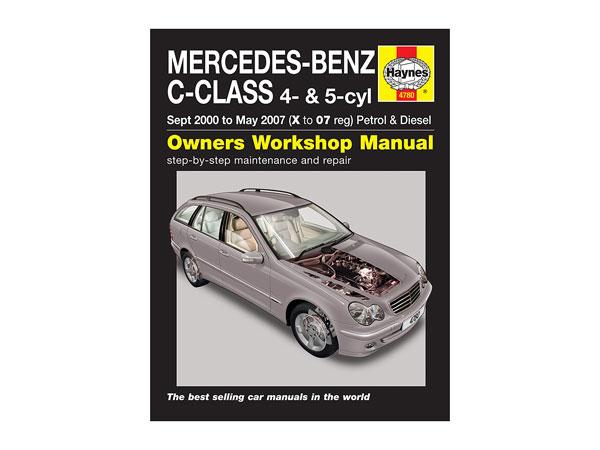 mercedes c class 2001 2007 haynes workshop manual rh partsformercedes benz com Online Repair Manuals Vehicle Repair Manuals