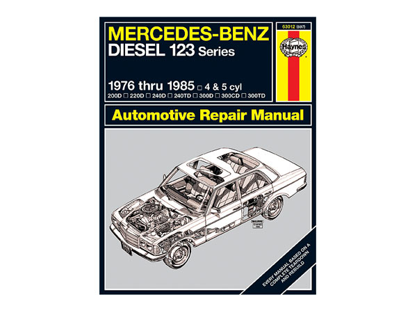 mercedes w123 series 1976 1985 diesel only haynes workshop manual rh partsformercedes benz com Vehicle Repair Manuals Vehicle Repair Manuals