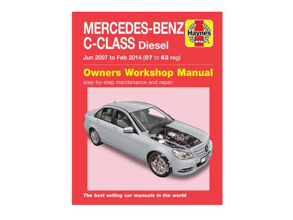 mercedes c class diesel 07 to 63 haynes repair manual rh partsformercedes benz com Haynes Repair Manual 1991 Honda Civic Online Repair Manuals