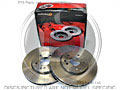 W123 Series '76-'85 200-300TD Solid Front Brake Disc (Pair) 278mm - Mintex